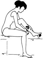 Самомассаж голени и икр