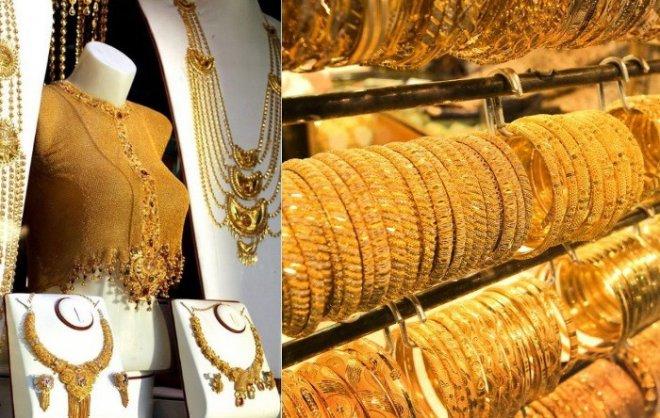 Мифическое царство царя Мидаса на рынке Дубая