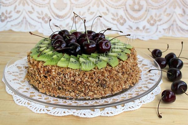 Обалденный торт из пряников и сметаны