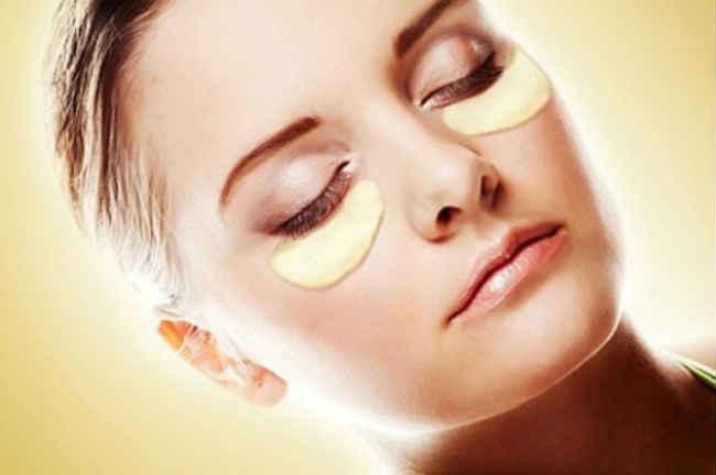 картофельная маска для кожи вокруг глаз