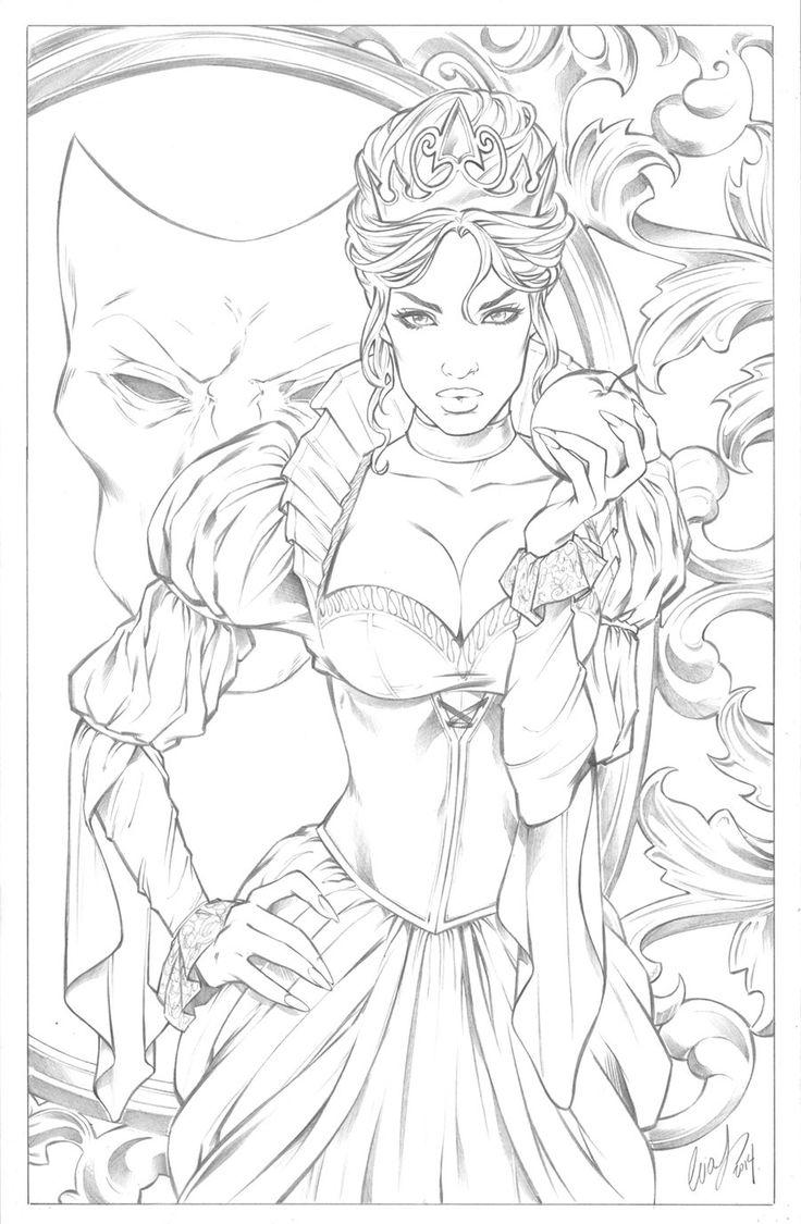 Evil Queen by Elias-Chatzoudis: