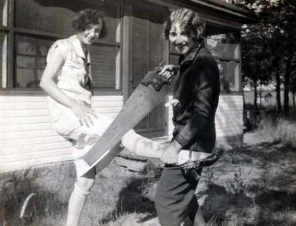 18. Фотосессия подружек, 1928 год век, мир, прошлое, снимок, событие, странность, фотография