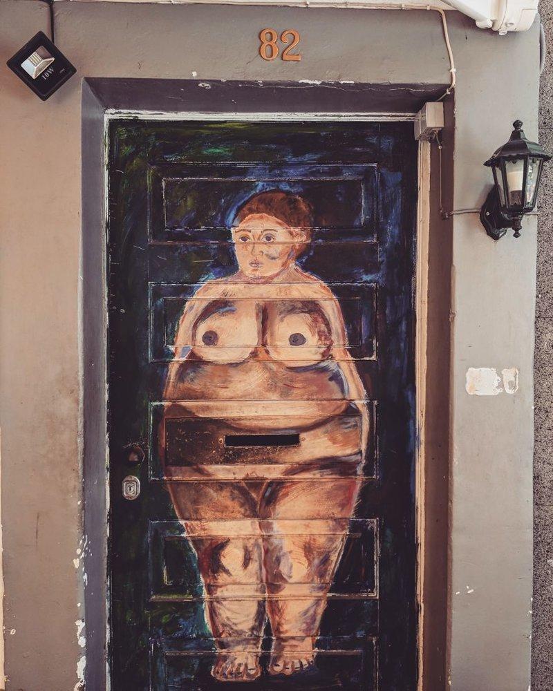 17. дверь, картина, мадейра, португалия, путешествие, фотография, фотомир