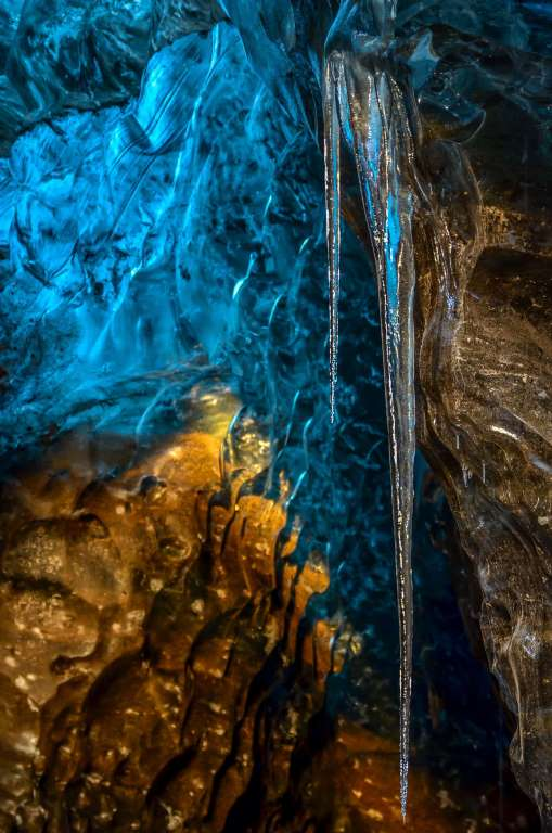 Потусторонняя пещера в леднике Ватнаёкуль-10