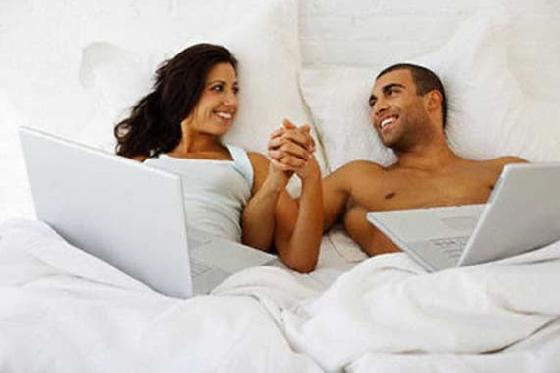 Виртуальный секс (Из переписки с одного сайта)18++