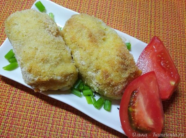 Куриные рулетики с кабачком и сыром
