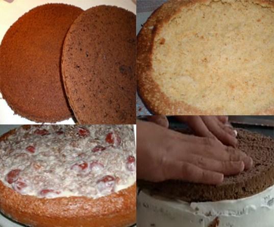 Торт на кефире черный принц — пошаговый рецепт