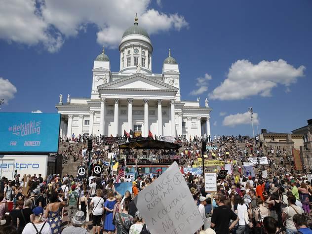Путин и Трамп встретятся в Готическом зале Президентского дворца Хельсинки