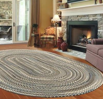 Плетеные коврики. Идеи для в…