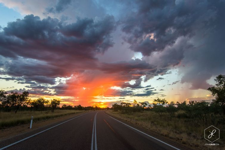 Йохан Лолос, Johan Lolos, путешествия по Австралии