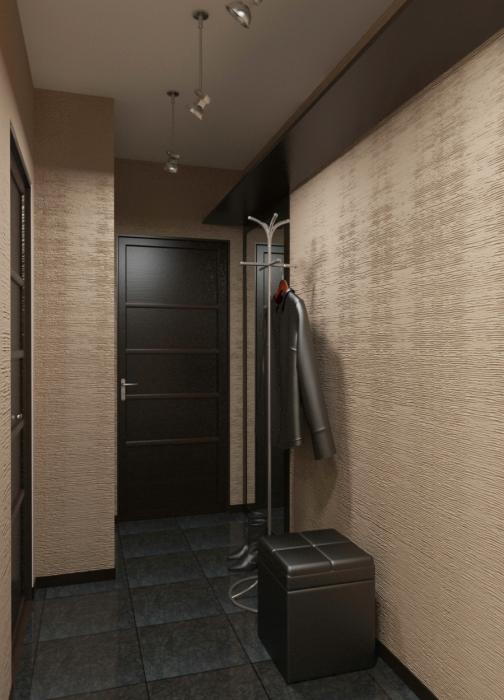 Ремонт в маленьком коридоре фото