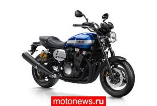Обновленный нейкид Yamaha XJR1300 на салоне Intermot