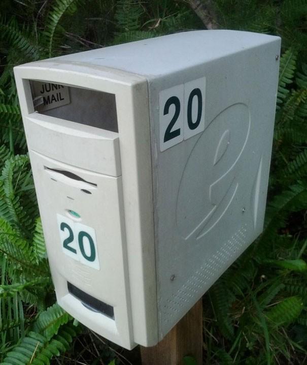 Оригинальный почтовый ящик для частного дома своими руками