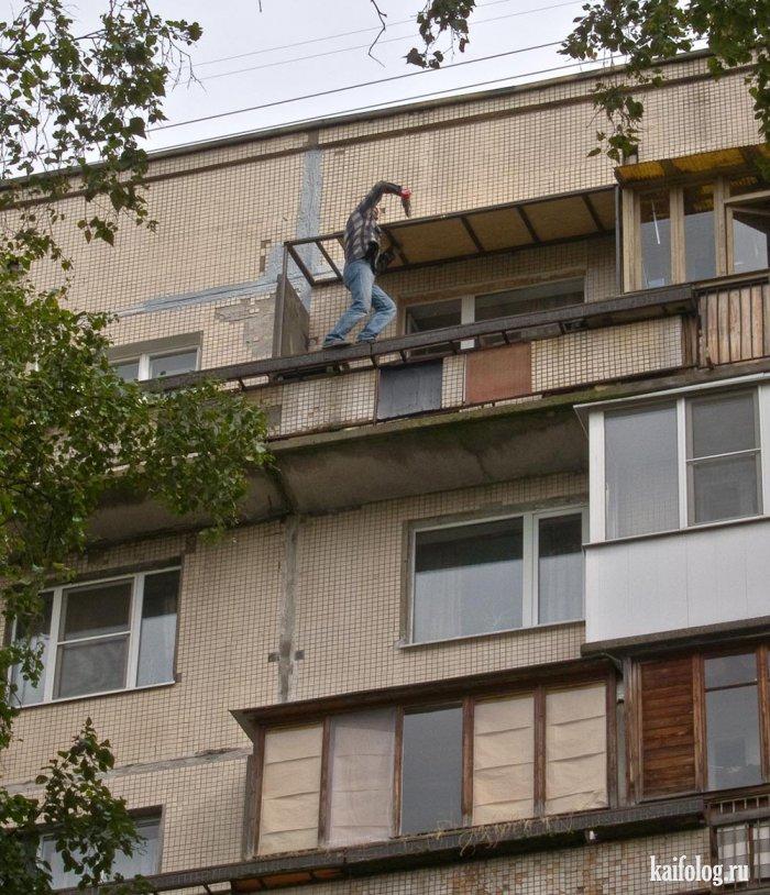 Прикольные балконы.