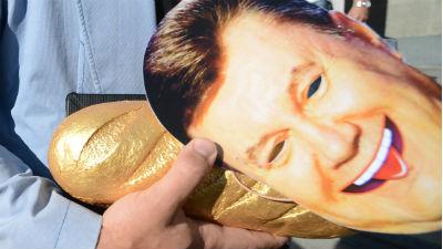 Депутат Верховной Рады обеспокоен исчезновением «золотого батона» Януковича