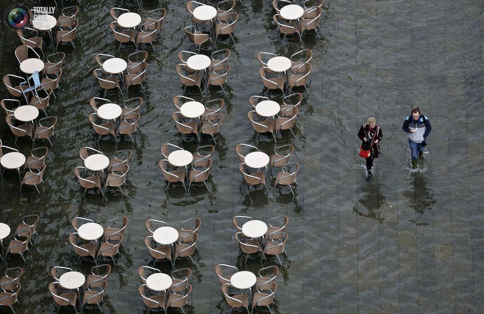 Затопленная площадь Сан-Марко