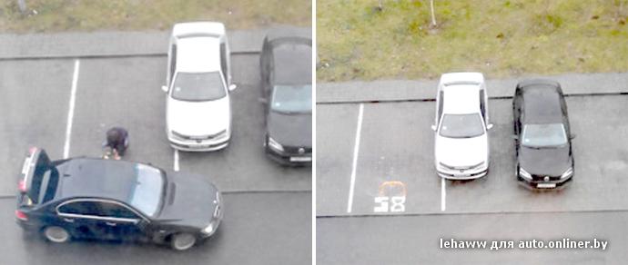 Сначала король газона, затем король парковки! - Минск, Беларусь