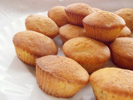 Рецепт манных кексов