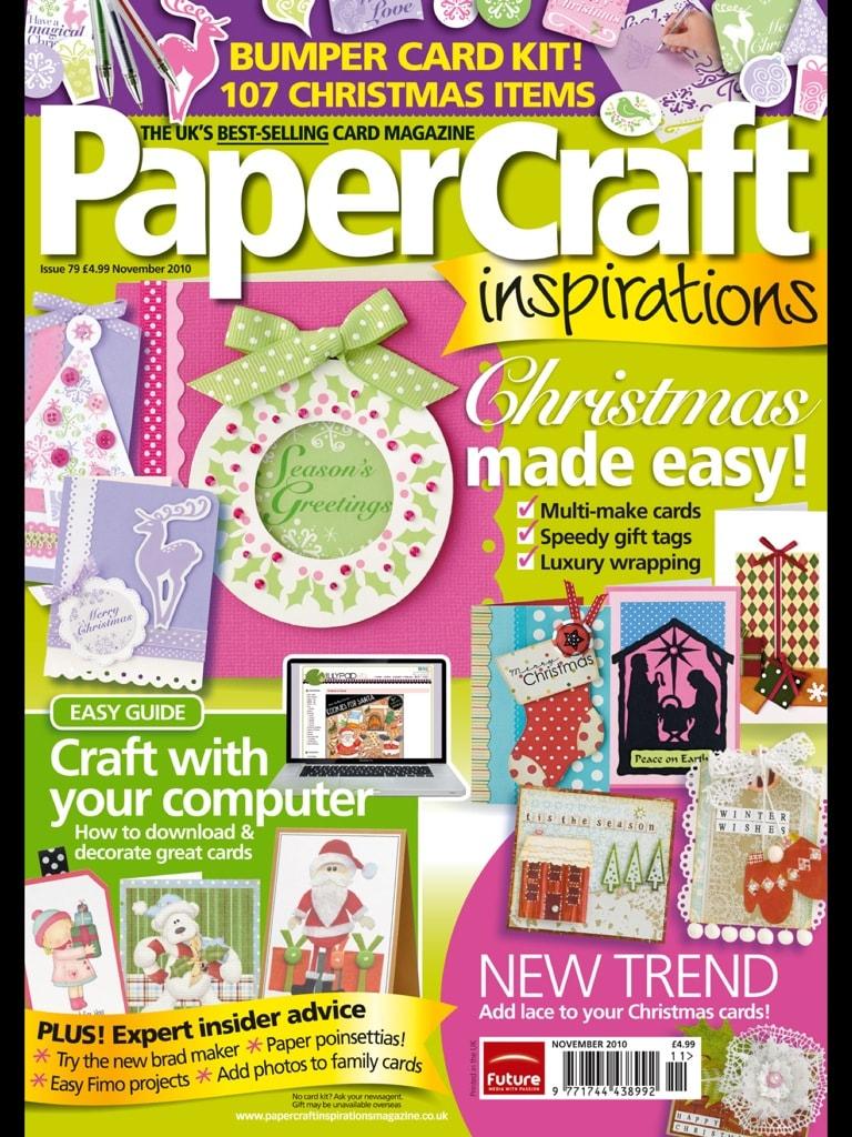 PaperCraft Inspirations 11 (79) 2010 (скрапбукинг)
