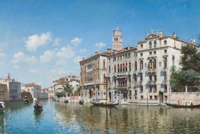 городские пейзажи художника Federico del Campo - 05