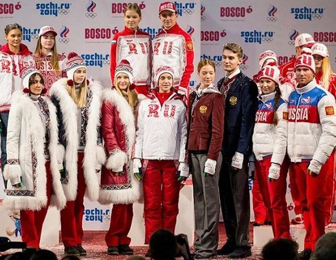 Форма разных стран мира для Олимпийских игр 2014