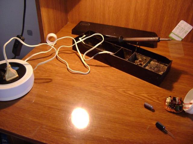 Как начинающий рукожоп ремонтирует лампу, энергосберегающую интересное, фото
