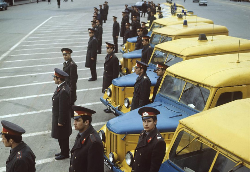 Милицейский транспорт СССР