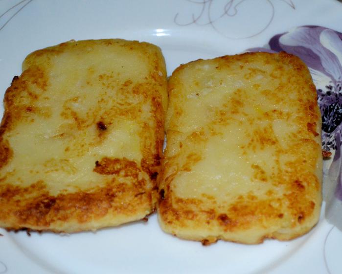 Картофельный сендвич