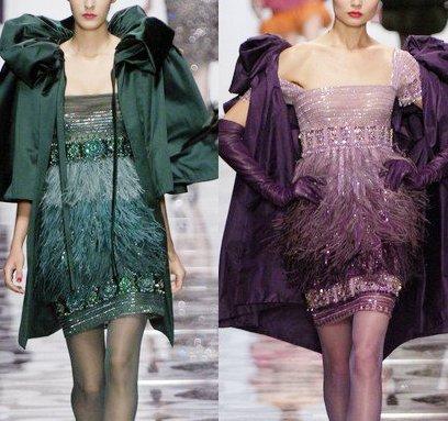 Классика моды — великолепные вечерние наряды из кутюрных коллекций Valentino
