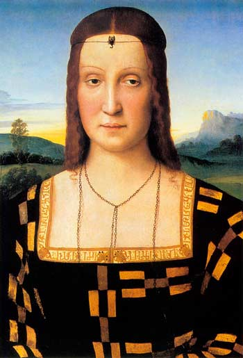 Рафаэль. Елизавета Гонзага