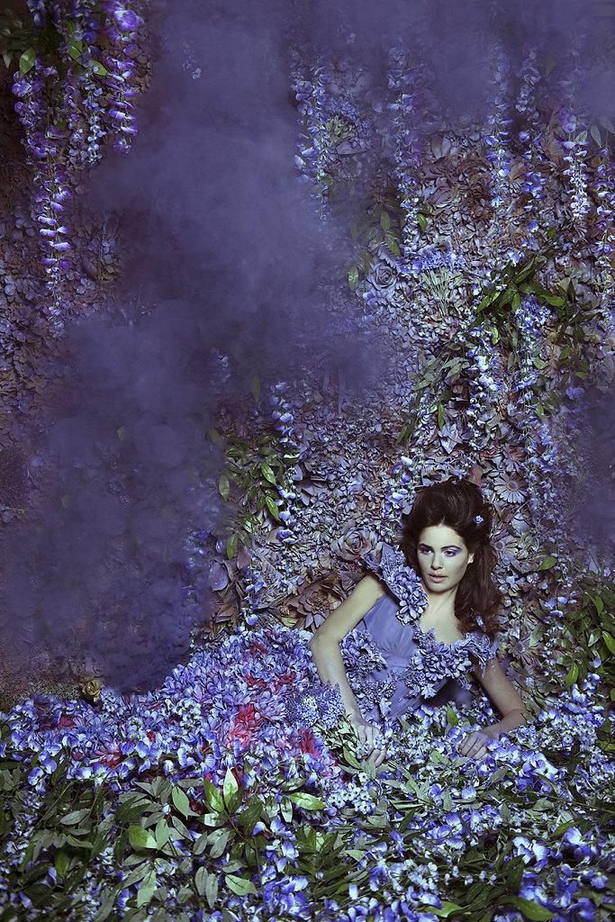 Фотопрект «Таинственный сад». Потрясающие сюрреалистические портреты фотографа Даниэлы Мэджик - 10