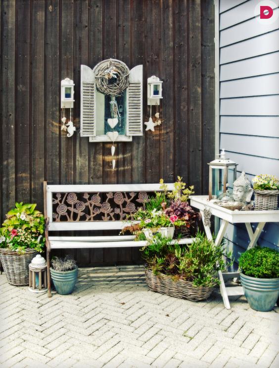 Контейнерный сад: множество вариантов садовых композиций