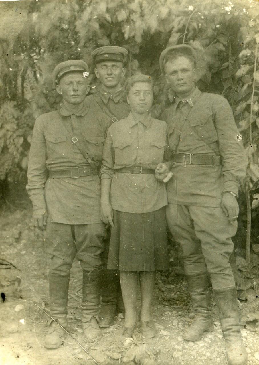 Группа Особого Отдела 230-й стрелковой дивизии 1942 г. Смерш, война, жизнь