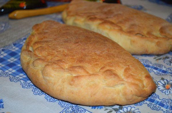 Пресное тесто для пирожков рецепт