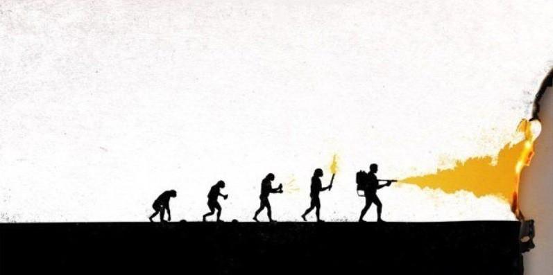 Используй все инновации/изобретения во благо, будь благоразумным. история, прикол, юмор