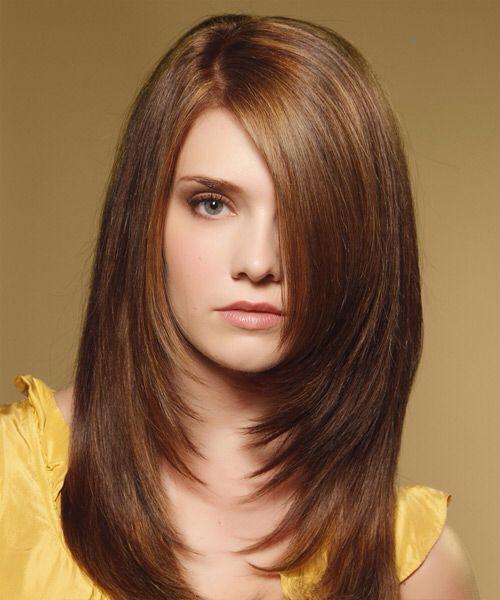 Стрижка каскад на средние, длинные и короткие волосы