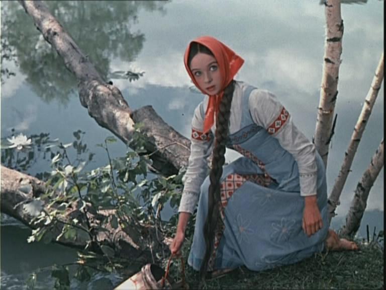 Наталья Седых в роли Настеньки, фильм «Морозко».