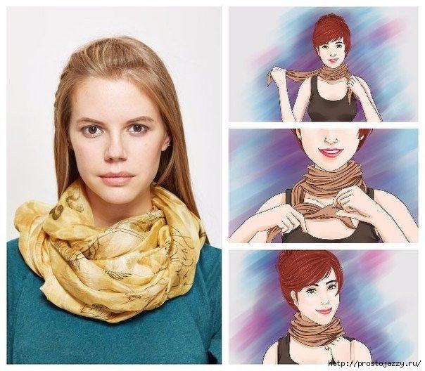 Семь способов носить шарф осенью5 (604x528, 191Kb)