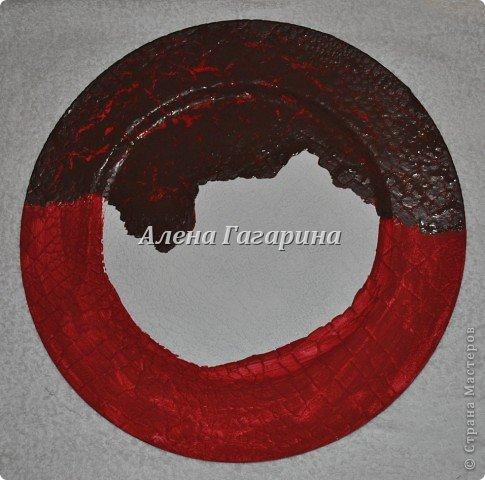 Декор предметов Мастер-класс Декупаж Тарелка Фламенко Бумага фото 7