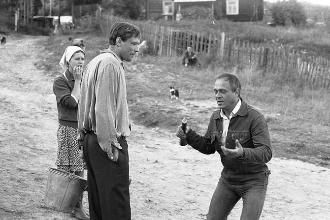 Фотографии со съёмочных площадок советских фильмов