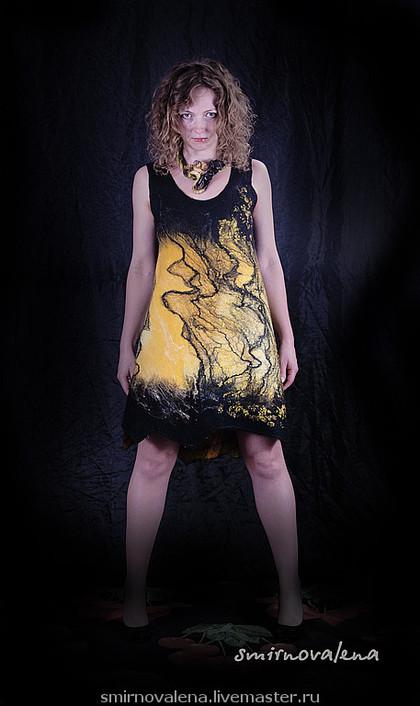 """Платья ручной работы. Ярмарка Мастеров - ручная работа Платье """"Желает"""". Handmade."""