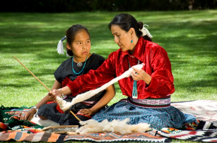 Семейные традиции индейцев: дети природы