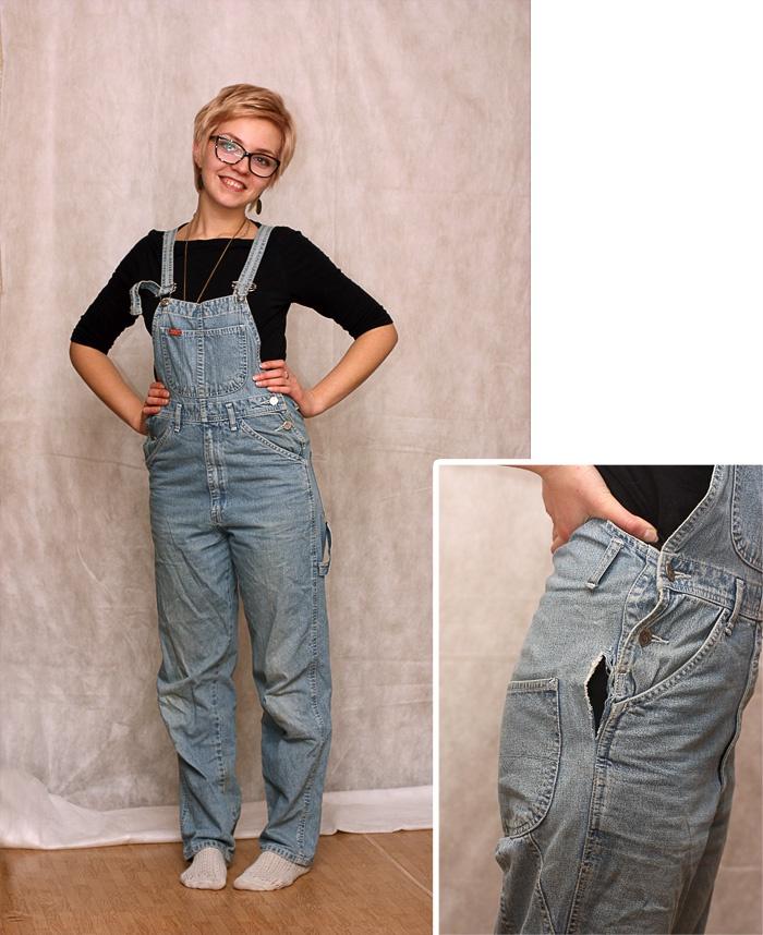 Какие брюки сшить из джинсовой ткани 83
