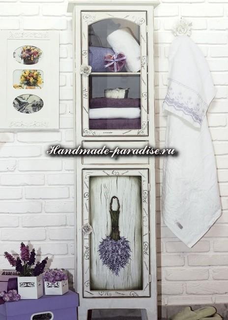 Роспись шкафа в винтажном французском стиле (2)
