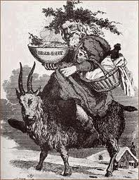 6  Father Christmas riding a goat..jpg
