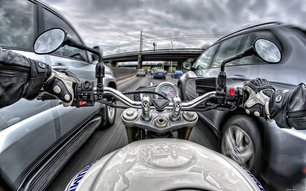 Мотоциклисты получат преимущества перед автомобилистами