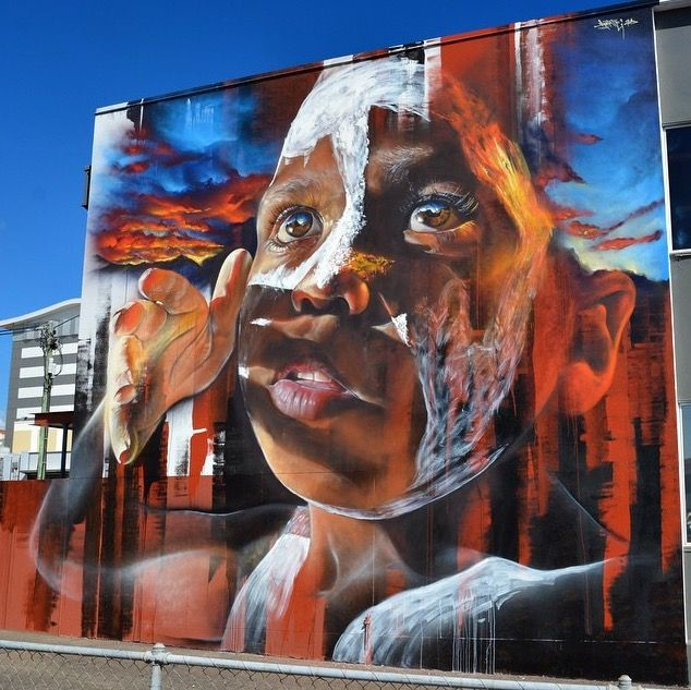 7. Тувумба, Квинсленд, Австралия граффити, стрит-арт, художники