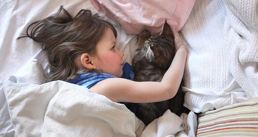 IrisandThula09 Как кошка Тула помогает девочке с аутизмом