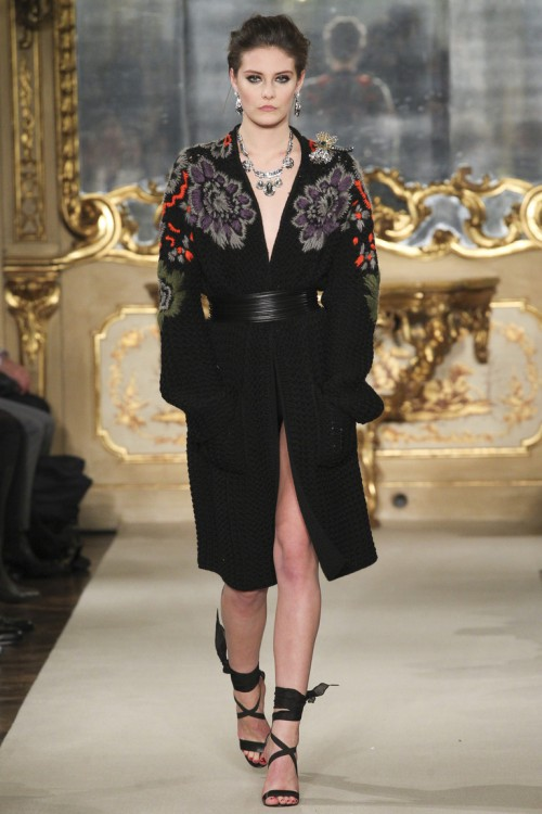цветочные истории, стильный женский кардиган, вязаная мода 2016, вязаные тренды осень зима 2015-2016, вязаный кардиган мода 2015 (фото 1)