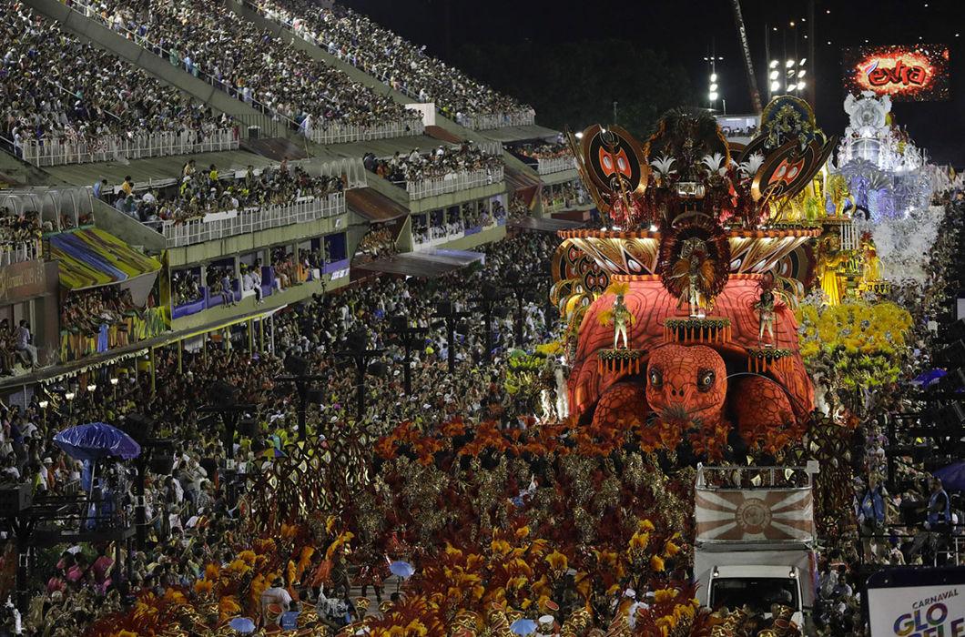 Бразильский карнавал в фотографиях